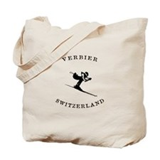 Verbier Switzerland Ski Tote Bag