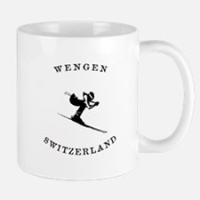 Wengen Switzerland Ski Mugs