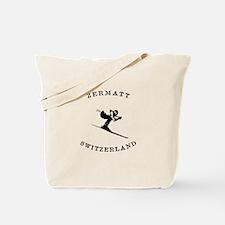 Zermatt Switzerland Ski Tote Bag