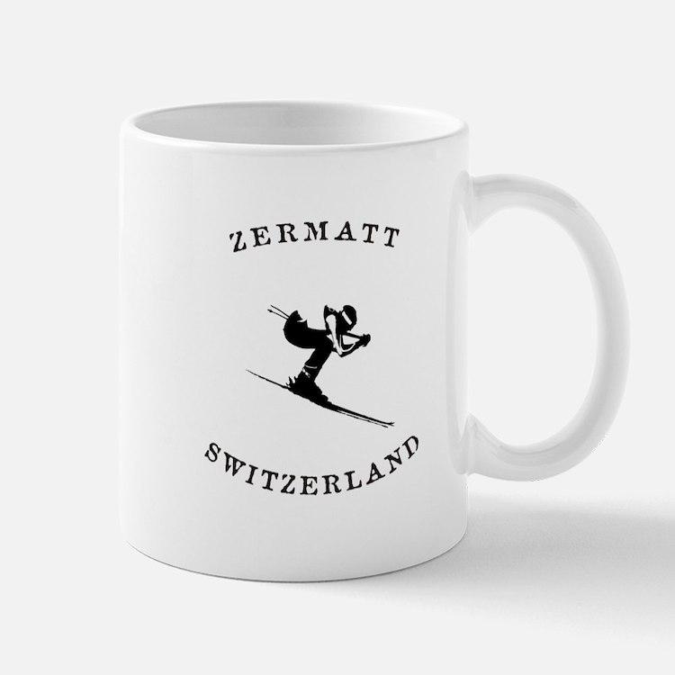 Zermatt Switzerland Ski Mugs