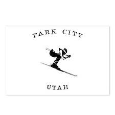 Park City Utah Ski Postcards (Package of 8)