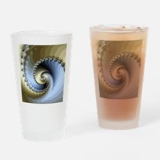 Unique Abstract spiral Drinking Glass