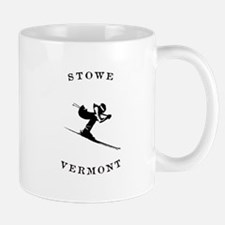 Stowe Vermont Ski Mugs