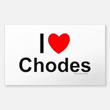 Chodes Decal