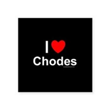 "Chodes Square Sticker 3"" x 3"""