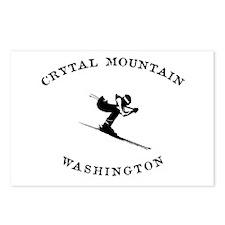 Crystal Mountain Washington Ski Postcards (Package