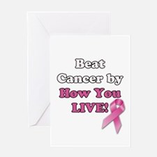 Beat Cancer Greeting Cards