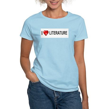 I love literature Women's Light T-Shirt