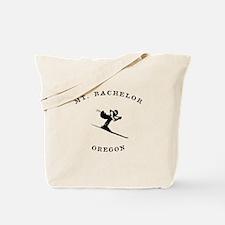 Mount Bachelor Oregon Ski Tote Bag