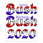 Bush Bush 2020 Small Poster