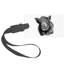 Lucy the wonder pig Luggage Tag