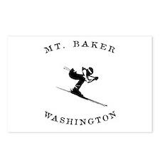 Mount Baker Washington Ski Postcards (Package of 8