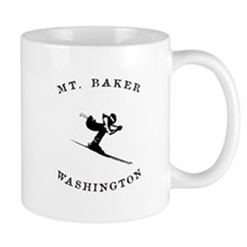 Mount Baker Washington Ski Mugs