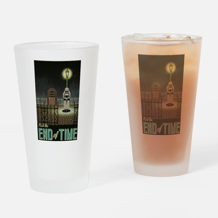 Chrono Trigger End of Time Drinking Glass