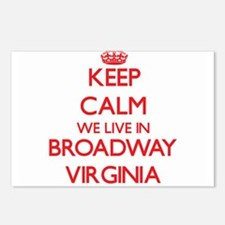 Keep calm we live in Broa Postcards (Package of 8)