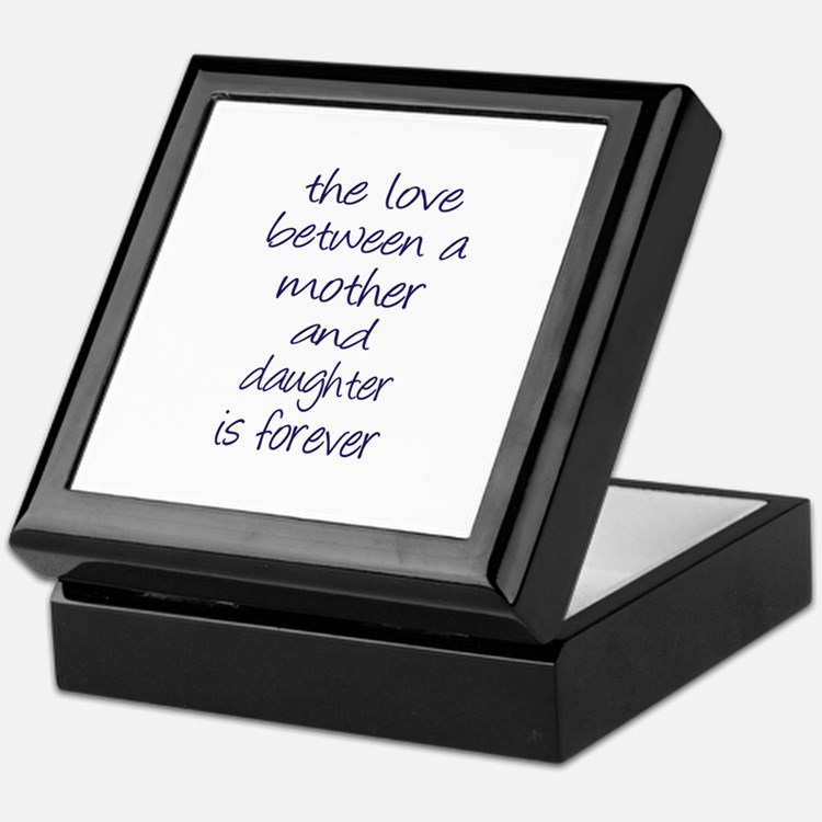 Mother Daughter Love Keepsake Box