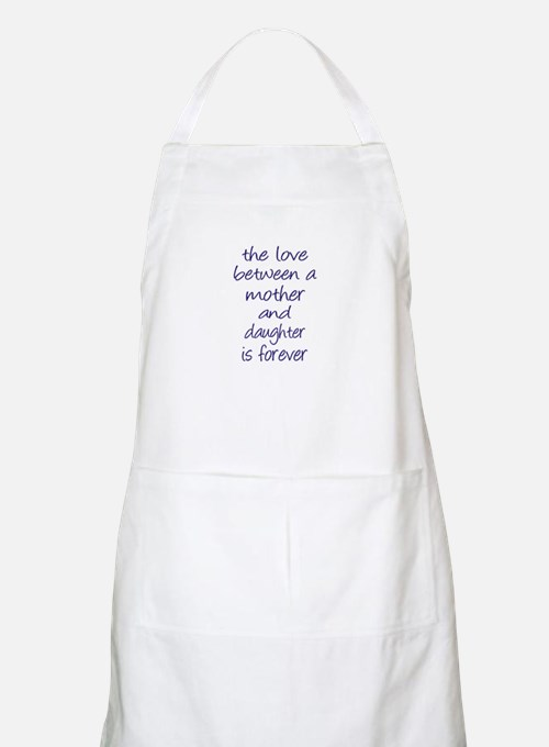 Mother Daughter Love Apron