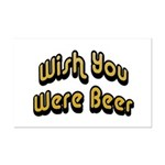 Wish You Were Beer Mini Poster Print