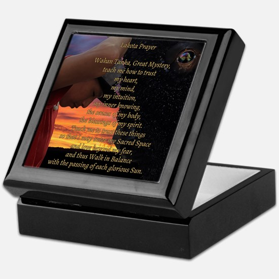 Lakota Prayer Keepsake Box