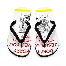 bocce joke Flip Flops