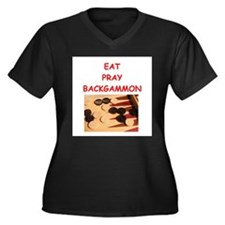 backgammon joke Plus Size T-Shirt