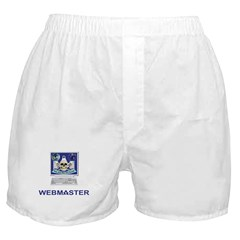 Masonic Webmaster. Spreading the word. Boxer Short