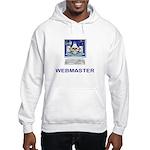 Masonic Webmaster. Spreading the word. Hooded Swea