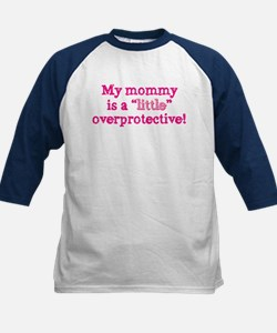 Mommy is a little overprotect Kids Baseball Jersey