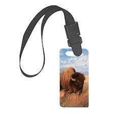 Bull Buffalo Luggage Tag