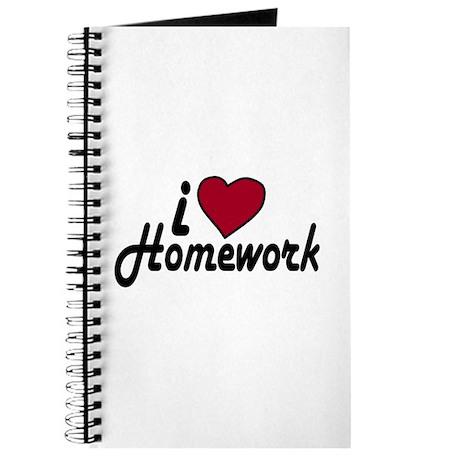 I Love Homework (Back to School) Journal