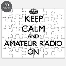 Keep calm and Amateur Radio ON Puzzle