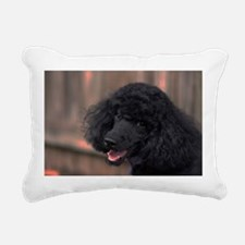 I'm being good, really. Rectangular Canvas Pillow