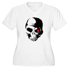 Cyborg Terminator Cyber Robot Te Plus Size T-Shirt