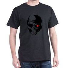 Cyborg Terminator Cyber Robot Tech Skull I T-Shirt