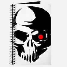 Cyborg Terminator Cyber Robot Tech Skull I Journal