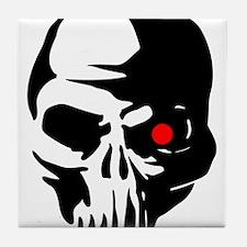 Cyborg Terminator Cyber Robot Tech Sk Tile Coaster