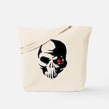 Cyborg Terminator Cyber Robot Tech Skull Tote Bag