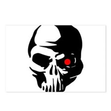 Cyborg Terminator Cyber R Postcards (Package of 8)