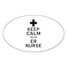 Keep Calm ER Nurse Decal