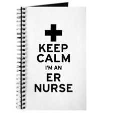 Keep Calm ER Nurse Journal