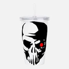 Cyborg Terminator Cybe Acrylic Double-wall Tumbler