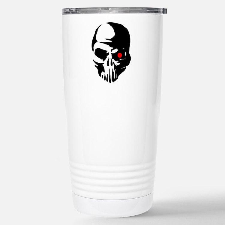 Cyborg Terminator Cyber Travel Mug