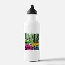 beautiful garden 2 Water Bottle