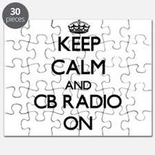 Keep calm and Cb Radio ON Puzzle