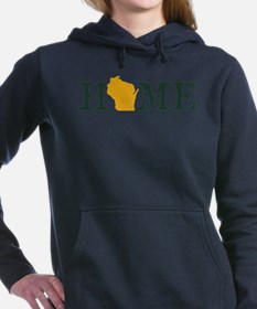 HOME - Wisconsin Women's Hooded Sweatshirt