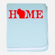 HOME - Wisconsin baby blanket