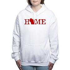 HOME - Wisconsin Women's Hooded Sweatshirt