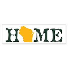 HOME - Wisconsin Bumper Bumper Sticker