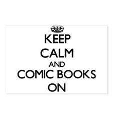Keep calm and Comic Books Postcards (Package of 8)