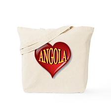 Angola Heart Tote Bag